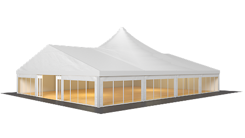 Röder B-TENTS Large Marquee with High Point